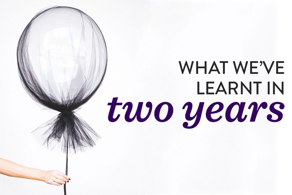 What we learnt in our two years